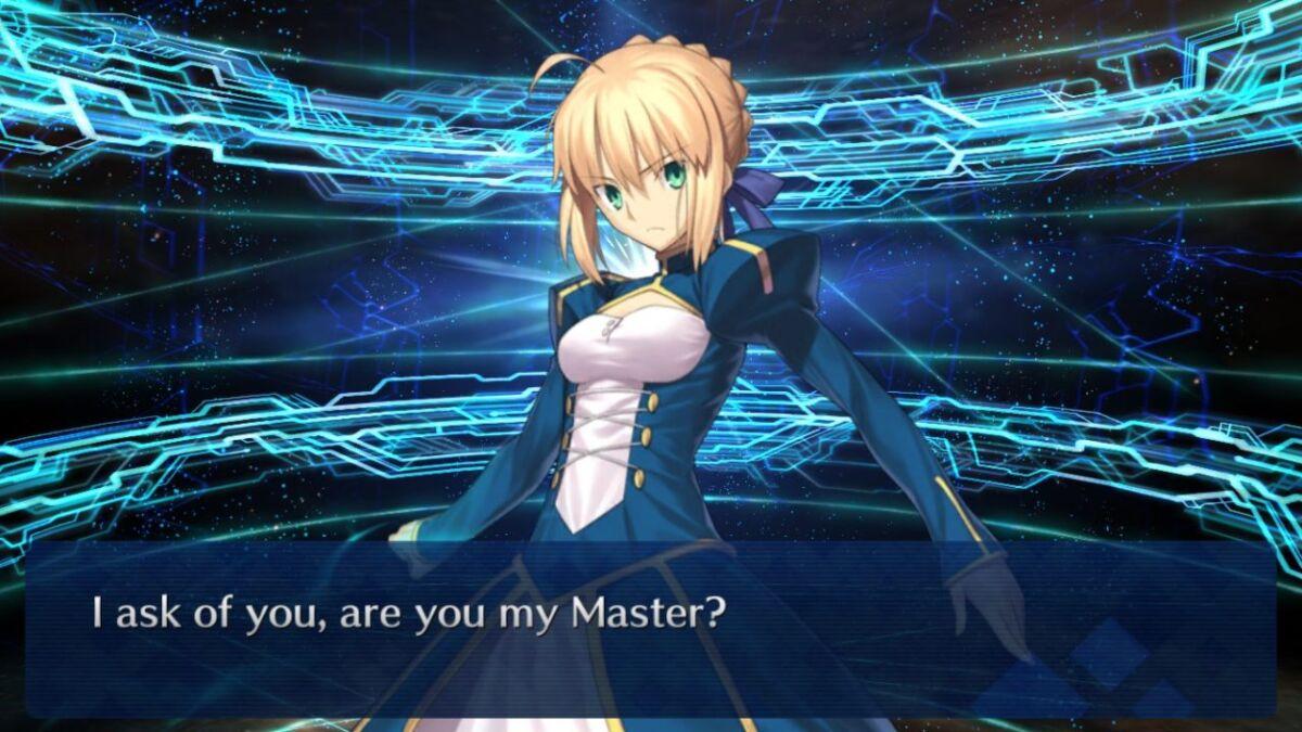 Fateで英語勉強したらあいあむざぼーんおぶまいそーどが体は剣で出来ているになるゾ[FGO]あーゆーまいますたー?