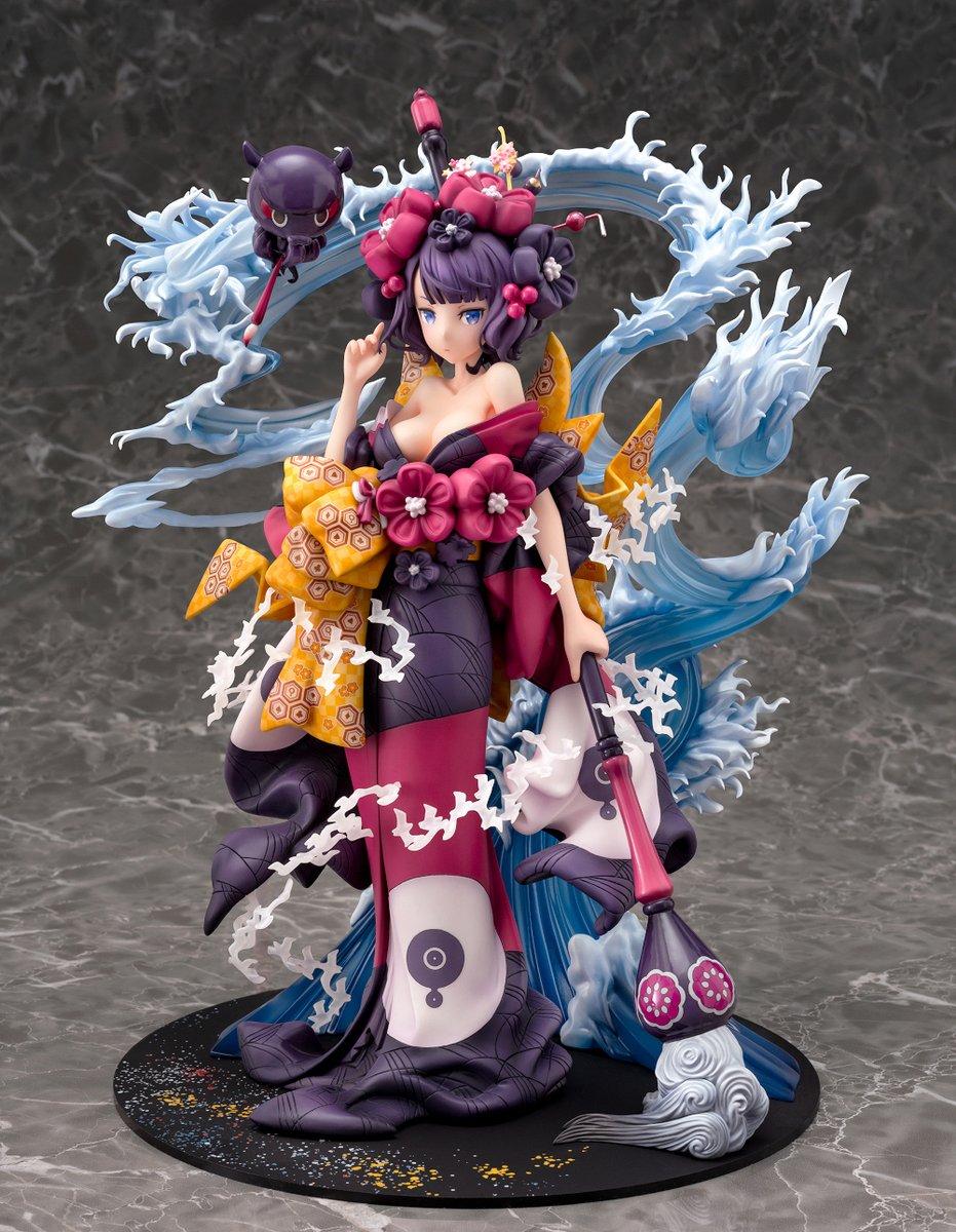 正月の女の子サーヴァントは立体にすると映えるなあ[FGO]Fate/Grand Order フォーリナー葛飾北斎1/7スケール完成品フィギュア