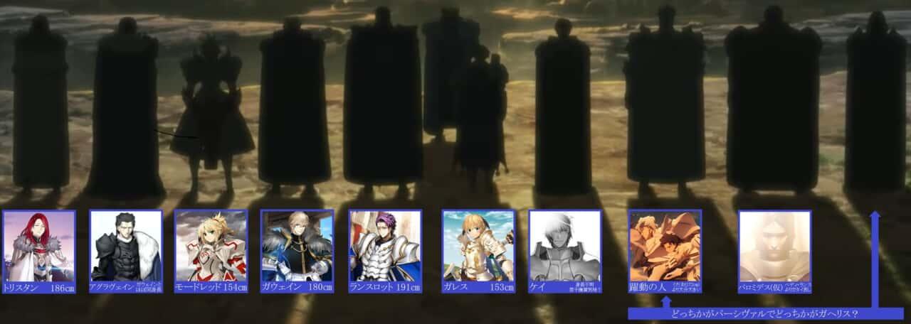 FGO劇場版キャメロット後編 Paladin; Agateram第一弾特報のシルエットで第2部後期OP[躍動]の円卓の騎士の真名がほぼ2択まで絞れてきたね。
