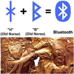 ハーラルBluetooth王を無線通信機器専門英霊として召喚しよう。え?あのマークってルーン文字由来だったのか[FGO]青歯王